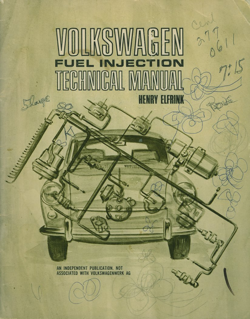 thesamba com vw archives type 3 books vw fuel injection technical manual henry elfrink henry elfrink automotive 1969 edition covers type 3