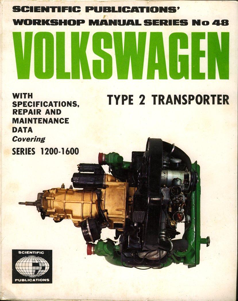 Volkswagen Workshop Manual Scientific Publications