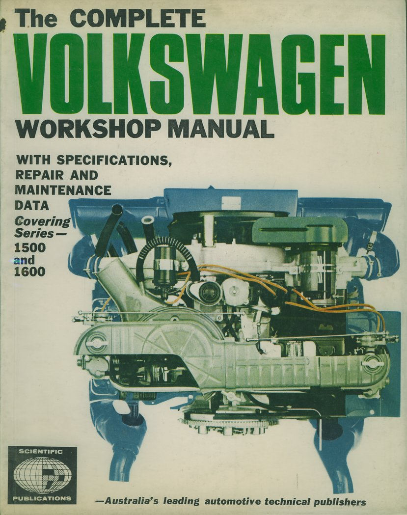 Thesamba vw archives type 3 books volkswagen workshop manual scientific publications publicscrutiny Images