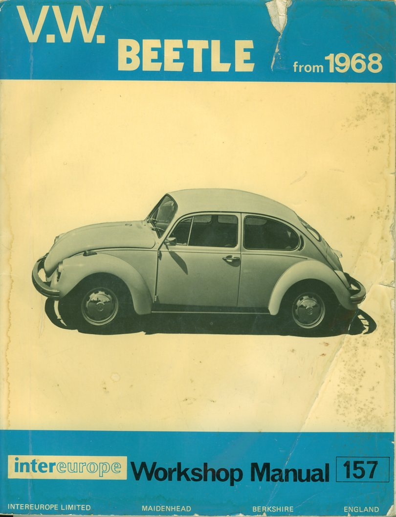 Thesamba vw archives karmann ghia books vw beetle from 1968 p harris publicscrutiny Images