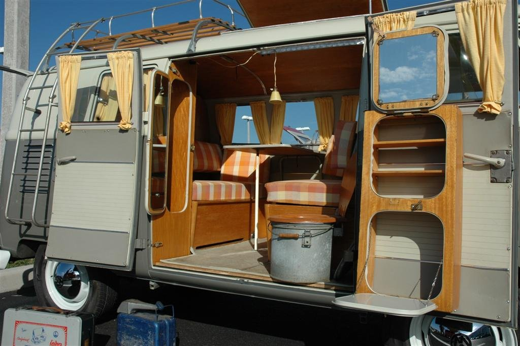 T1 campers vw bus camper for Interieur westfalia t3