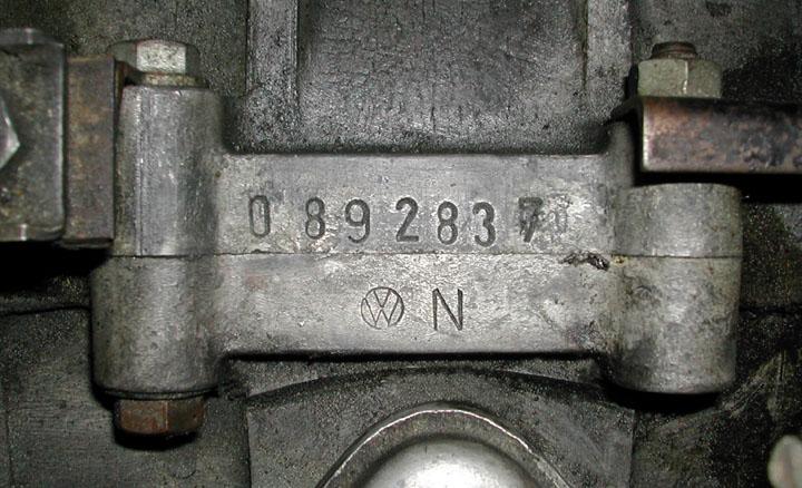 vw engine serial number lookup