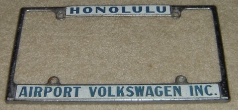 Thesamba Com Airport Volkswagen Honolulu Hawaii