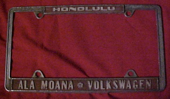 Thesamba Com Ala Moana Volkswagen Honolulu Hawaii