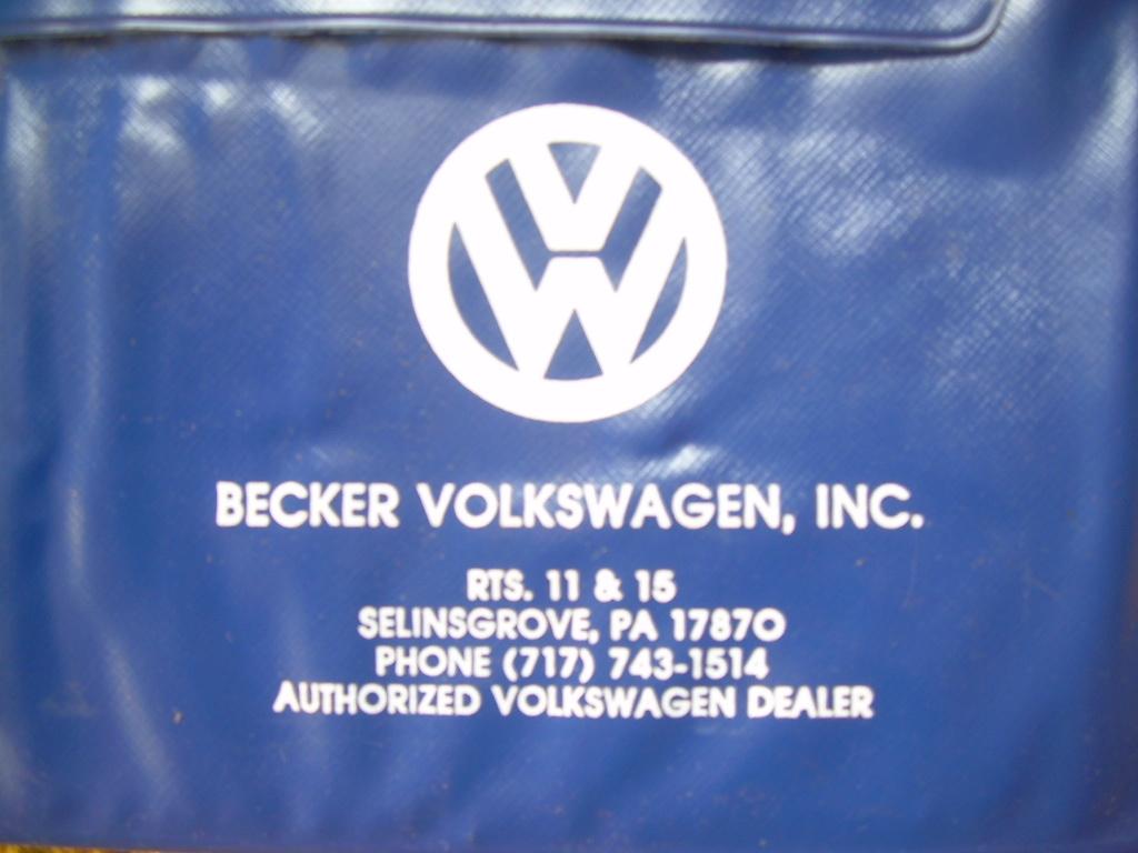 Thesamba Com Becker Motor Co Selinsgrove Pennsylvania