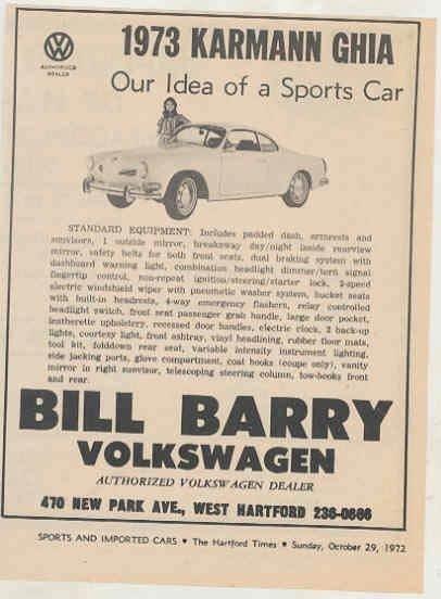 Thesamba Com Bill Barry Volkswagen Inc West