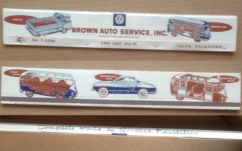 Thesamba Com Brown Auto Service Inc Tulsa Oklahoma