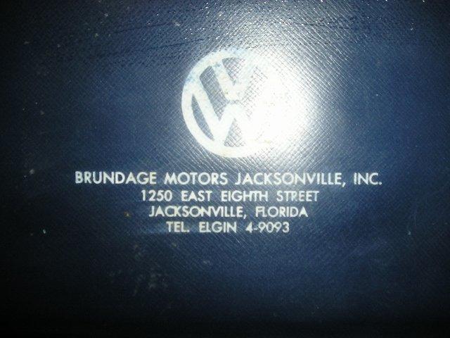 Thesamba Com Brundage Motors Jacksonville Florida