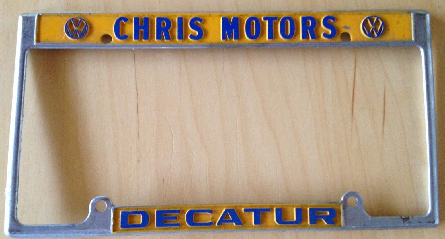 Thesamba Com Chris Motors Corp Decatur Georgia