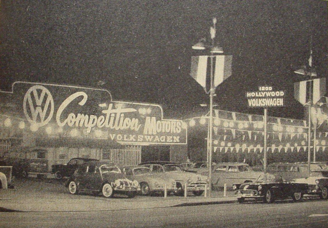 Thesamba Com Competition Motors Hollywood California
