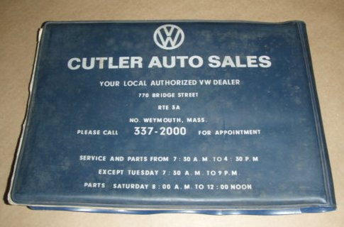 Thesamba Com Cutler Auto Sales Inc North Weymouth