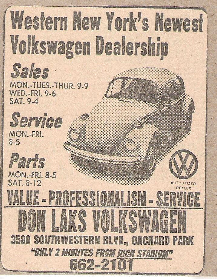TheSamba.com :: Don Laks Volkswagen - Orchard Park, New York