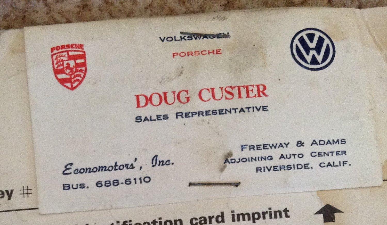 Thesamba econo motors riverside california business card doug custer reheart Choice Image