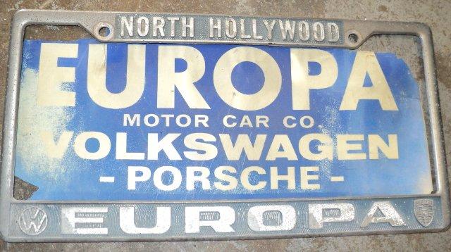 europa motor car co north hollywood california. Black Bedroom Furniture Sets. Home Design Ideas
