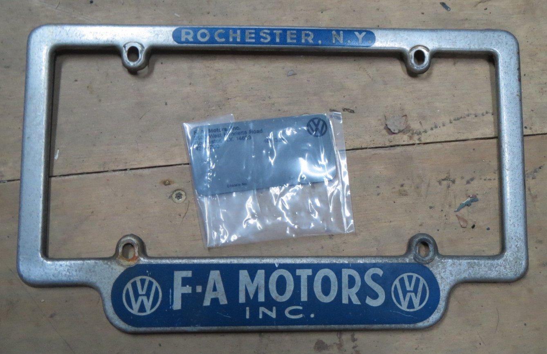 Thesamba Com F A Motors Rochester New York