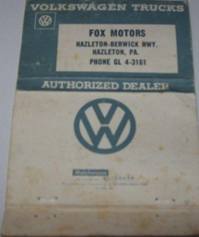 Fox Motors Inc Hazleton Pennsylvania