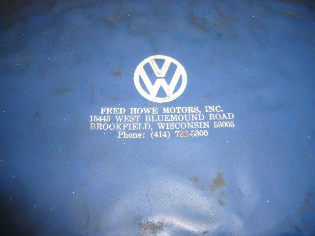 Thesamba Com Fred Howe Motors Inc Brookfield Wisconsin