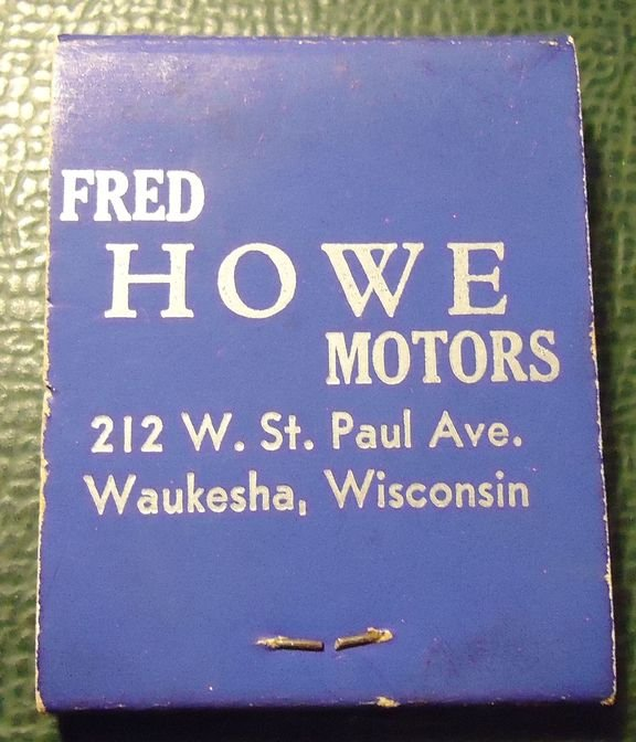 Thesamba Com Fred Howe Motors Inc Waukesha Wisconsin