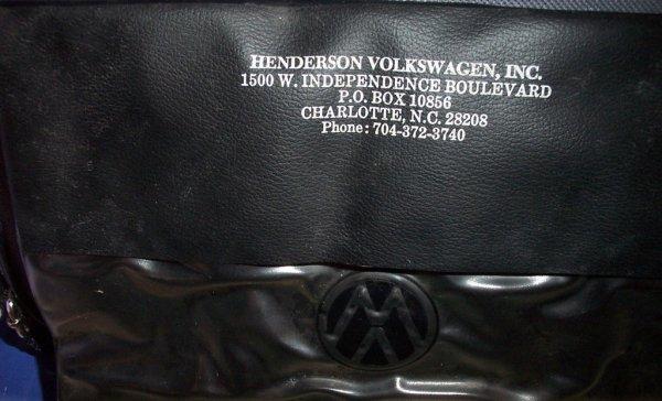 Thesamba Com Henderson Volkswagen Inc Charlotte