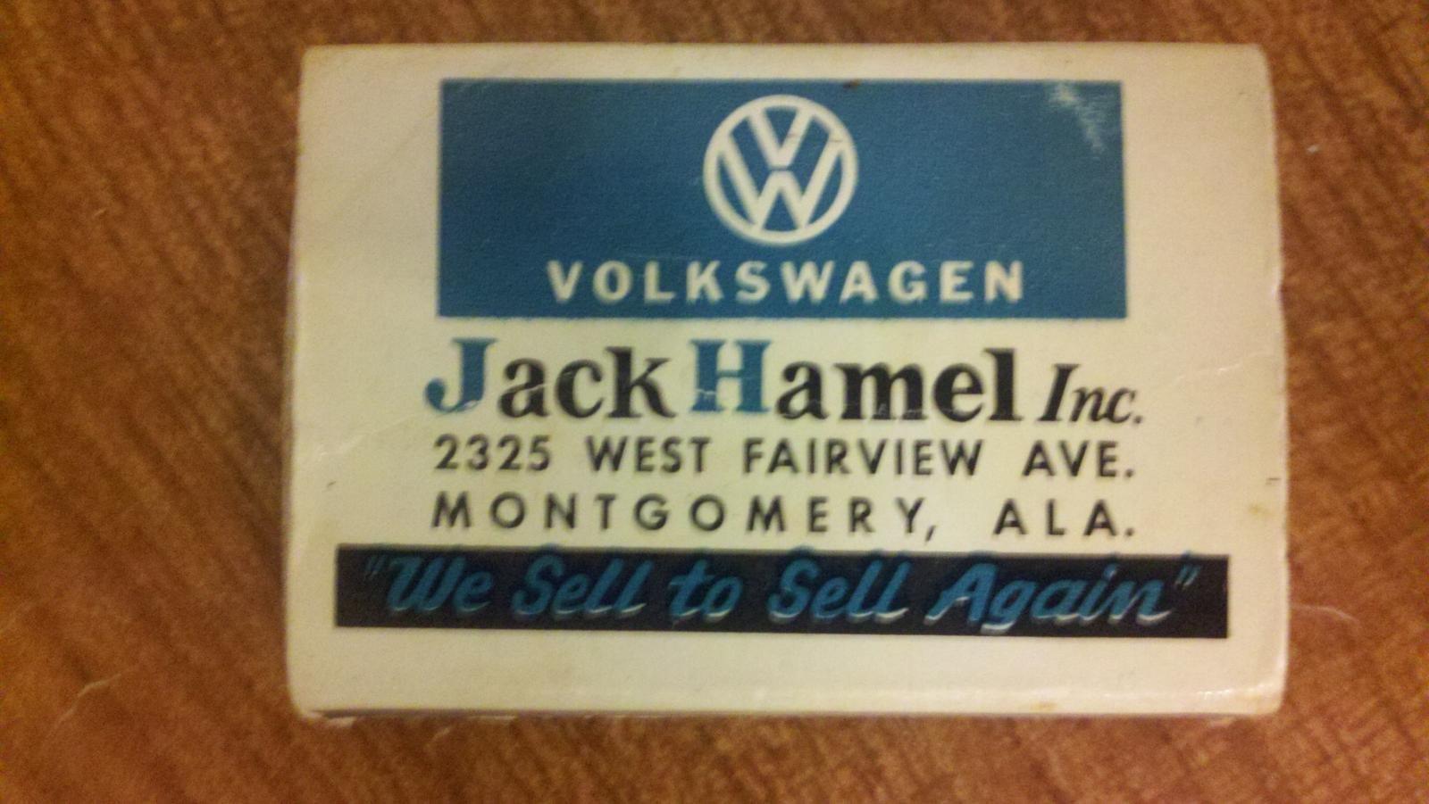Thesamba Com Jack Hamel Inc Montgomery Alabama