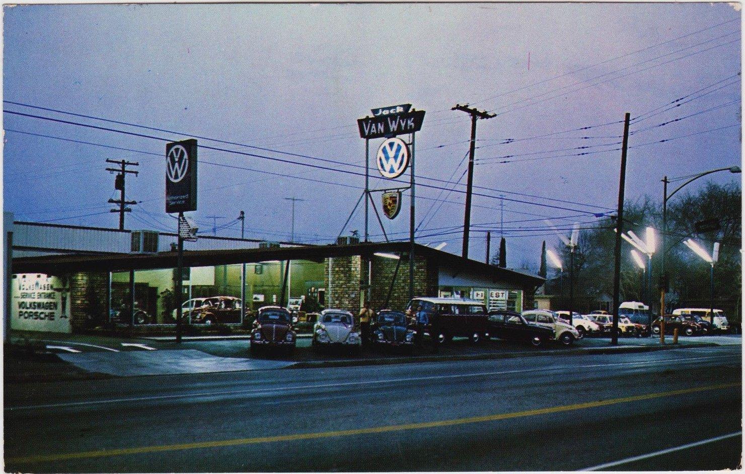 Thesamba Com Van Wyk Volkswagen San Bernardino California