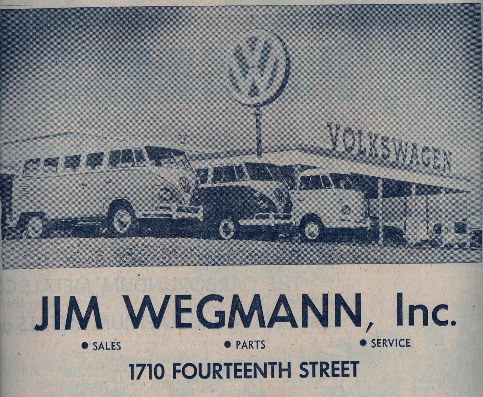 Thesamba Com Jim Wegmann Inc Parkersburg West Virginia