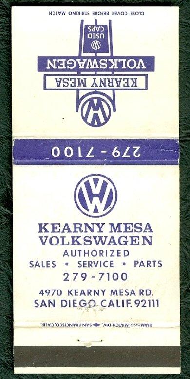 Vw Kearny Mesa >> TheSamba.com :: Kearny Mesa Volkswagen - San Diego, California