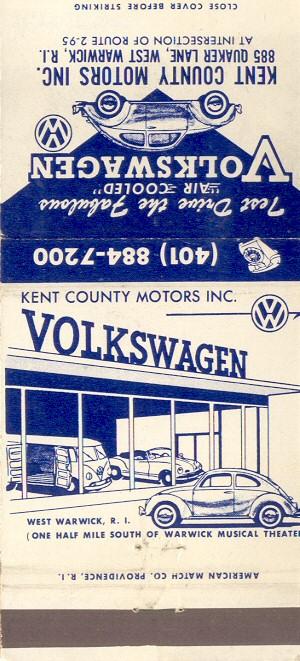 Thesamba Com Kent County Motors West Warwick Rhode