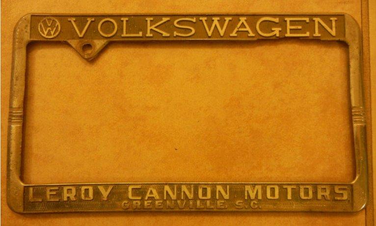 Thesamba Com Leroy Cannon Motors Greenville South Carolina