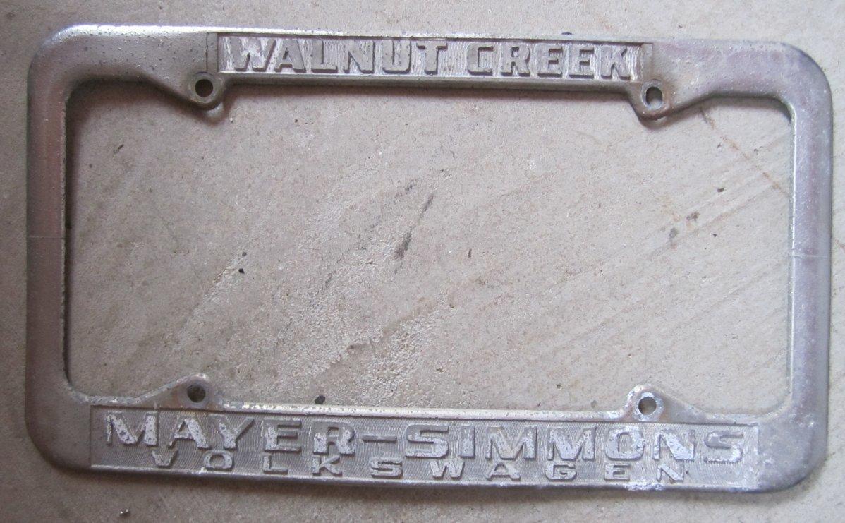 TheSamba.com :: Mayer-Simmons Volkswagen - Walnut Creek, California