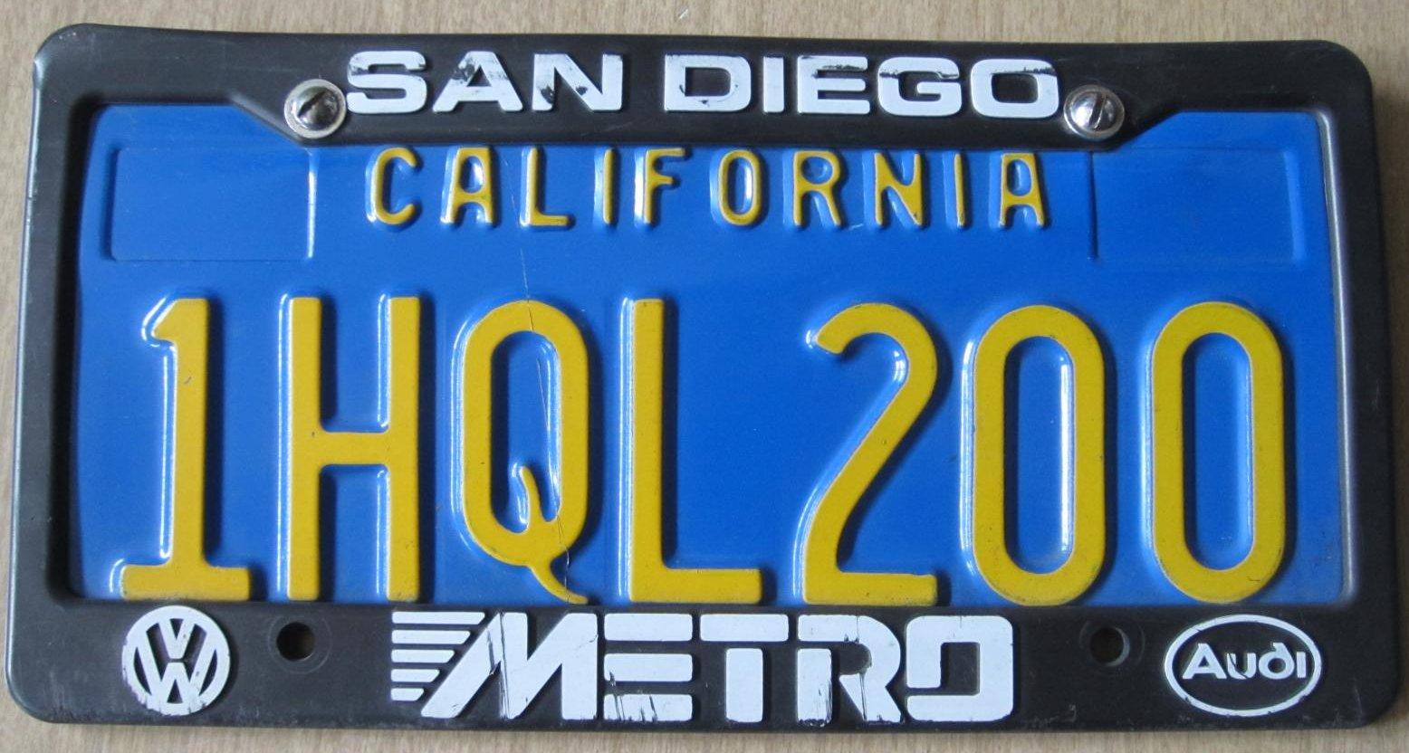 Thesamba Com Metro San Diego California