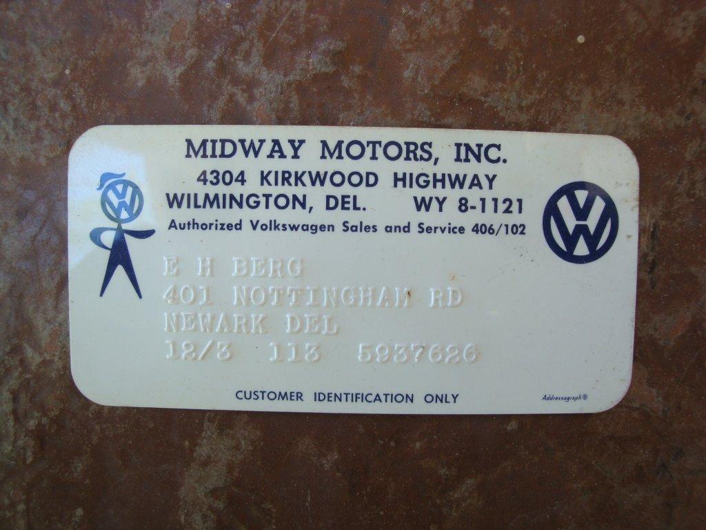 Thesamba Com Midway Motors Newark Delaware