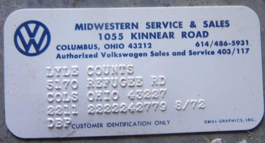 Thesamba Com Midwestern Service And Sales Columbus Ohio