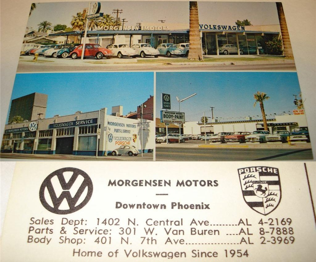 Thesamba Com Morgensen Motors Phoenix Arizona