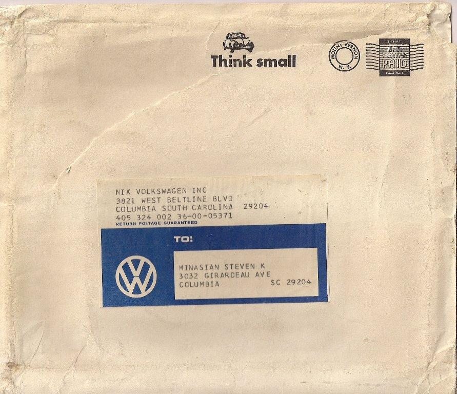 Buick Dealership Columbia Sc: TheSamba.com :: Nix Volkswagen