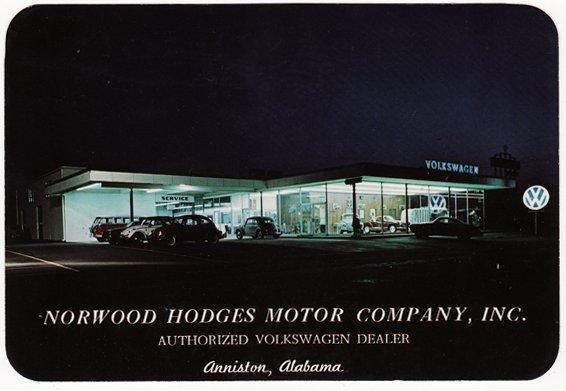 Thesamba Com Norwood Hodges Motor Co Anniston Alambama