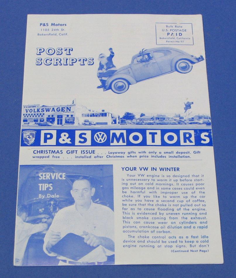 Thesamba Com P Amp S Motors Inc Bakersfield California