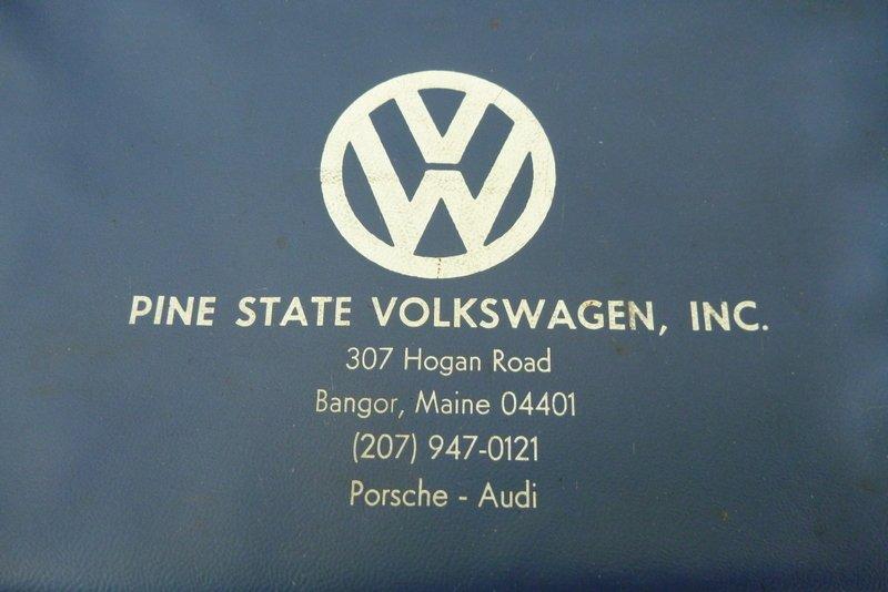 Thesamba Com Pine State Volkswagen Inc Bangor Maine