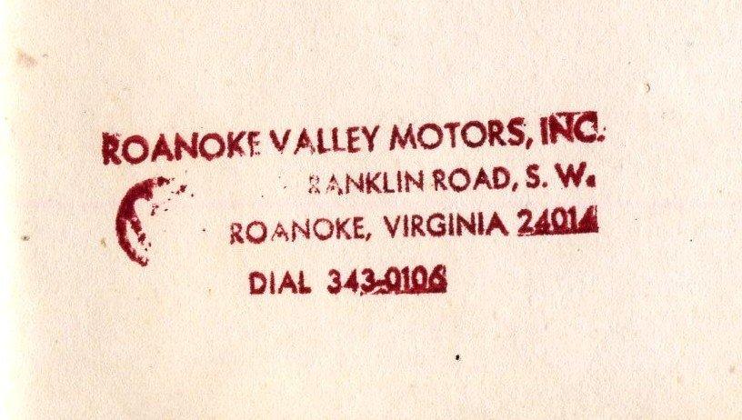 TheSamba.com :: Roanoke Valley Motors, Inc. - Roanoke ...