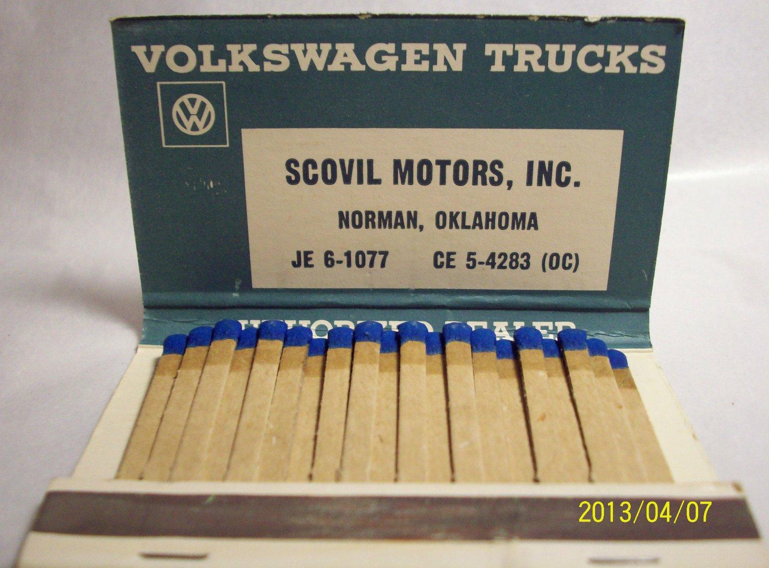 Thesamba Com Scovil Motors Inc Norman Oklahoma