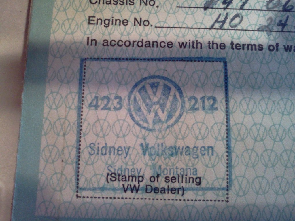 Thesamba Com Sidney Volkswagen Sidney Montana