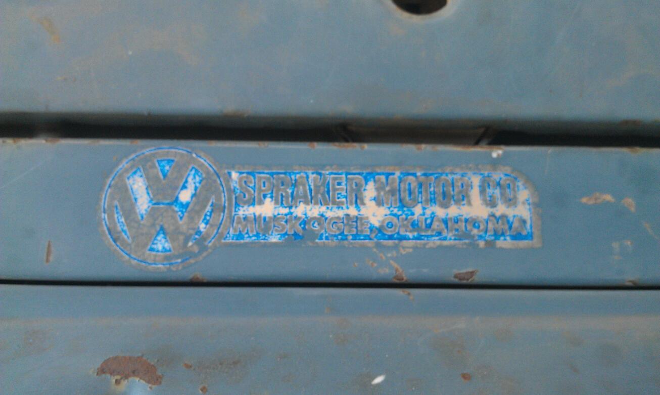 Thesamba Com Spraker Motor Co Muskogee Oklahoma