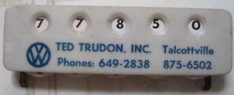 Thesamba Com Ted Trudon Inc Talcottville Connecticut
