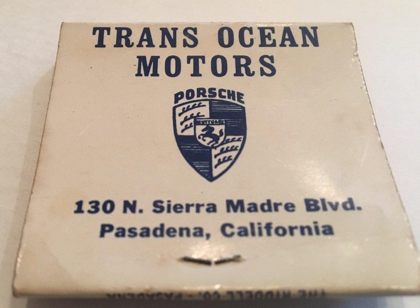 TheSamba.com :: Trans Ocean Motor Co. - Pasadena California