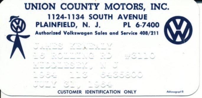Thesamba Com Union County Motors Inc Plainfield