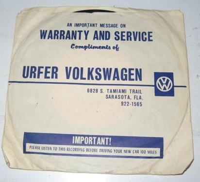 Thesamba Com Urfer Volkswagen Inc Sarasota Florida