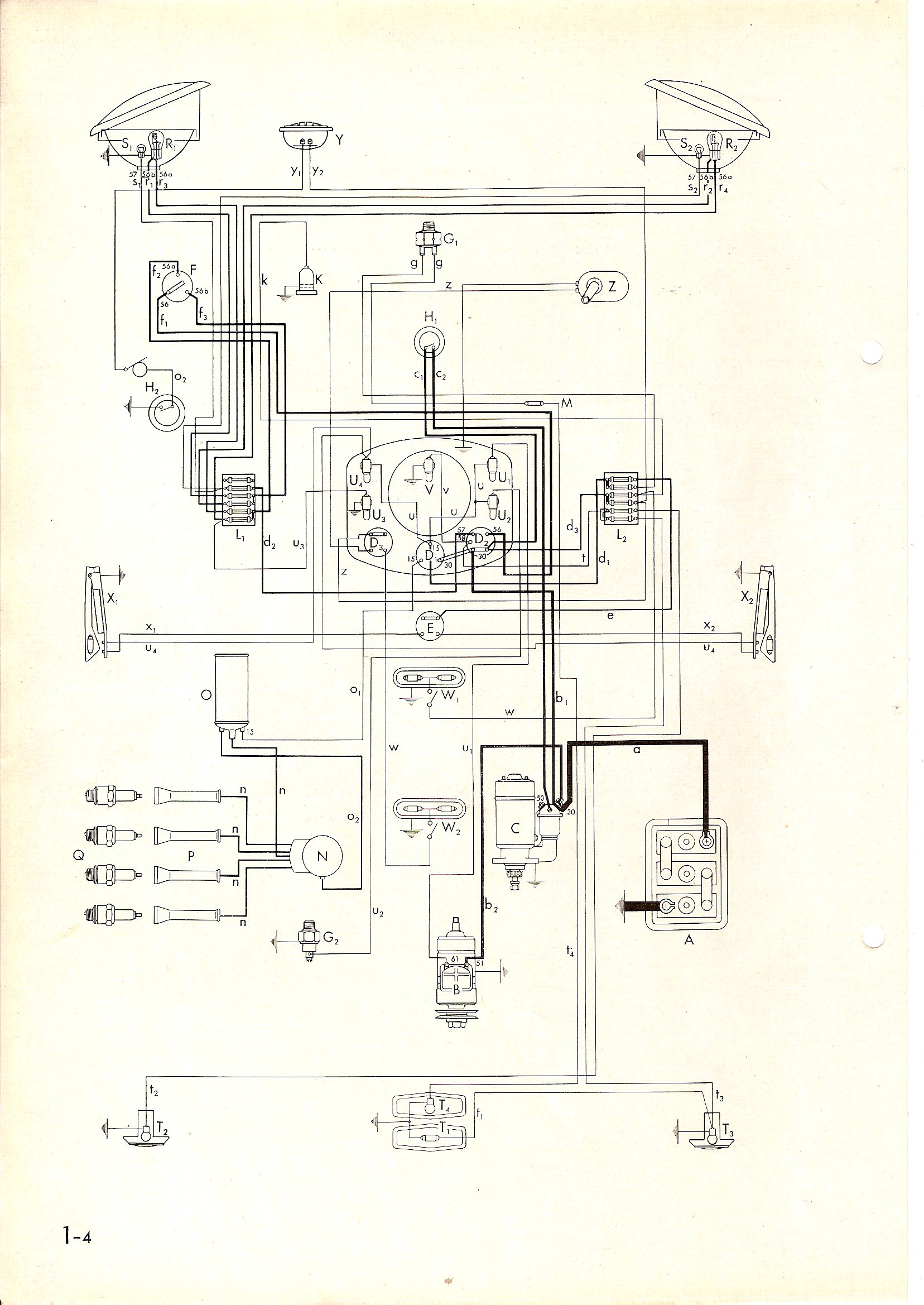 1974 vw beetle wiring diagram 1968 2006 vw beetle wiring diagrams electrics vw beetle negative earth - page 2 - vw forum ...