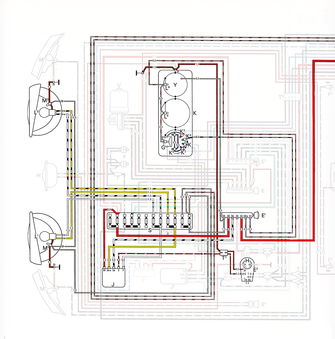 Type 2 Wiring Diagrams Switch Diagram