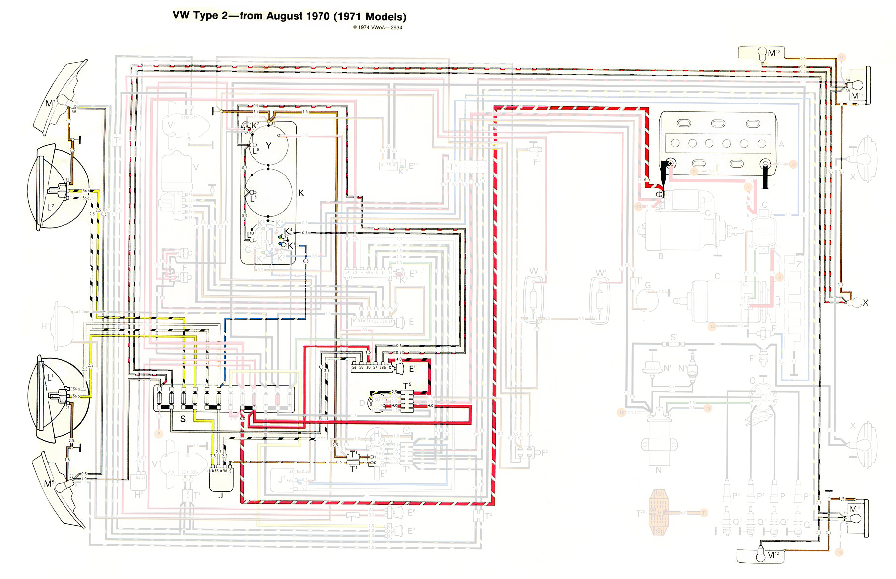 Wiring Diagram For 1968 Vw Beetle on corvair alternator wiring diagram