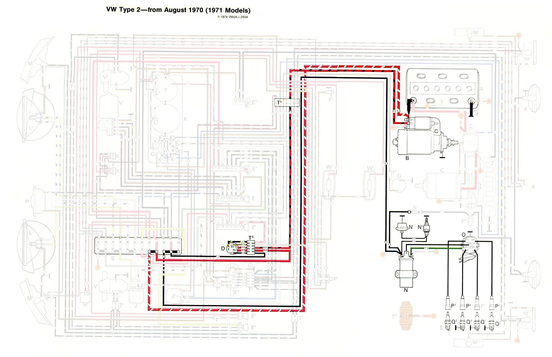 1979 Vw Bus Horn Wiring Schematics Data Diagrams 1971 Camaro Wire Schematic Thesamba Com Type 2 Jeep Engine